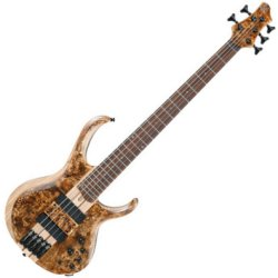 Ibanez BTB845V-ABL Workshop Series 5-String Electric Bass - Antique Brown Stained Low Gloss