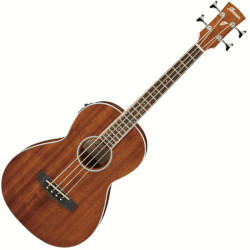 Ibanez PNB14E-OPN 4 String RH Acoustic Electric Bass - Open Pore Natural