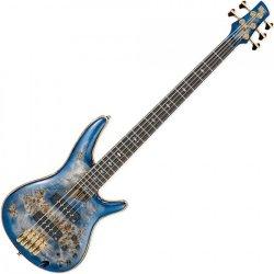 Ibanez SR2605-CBB SR Premium 5 String Electric Bass - Cerulean Blue Burst