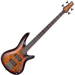 Ibanez SR400EQM-DEB-d SR Standard Series 4 String Electric Bass Dragon Eye Burst (discontinued clearance)