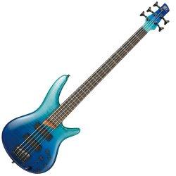 Ibanez SR875-BRG Electric SR 5-String Electric Bass - Blue Reef Gradiation