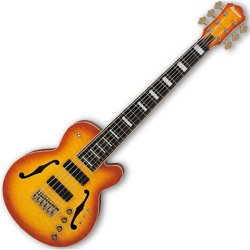 "Ibanez TCB1006-ALM Stephen ""Thundercat"" Bruner Signature 6 String Electric Bass Guitar - Autumn Leaf Burst"