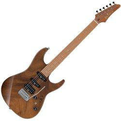 Ibanez TQM1-NTF Tom Quayle Signature 6 String Electric Guitar - Natural
