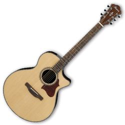 Ibanez AE305-NT AE Series 6 String RH Acoustic Electric Guitar in Natural High Gloss (Discontinued Clearance)