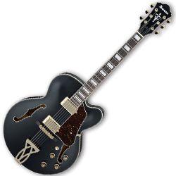 Ibanez AF75G-BKF Artcore 6 String RH Hollowbody Guitar in Black Flat