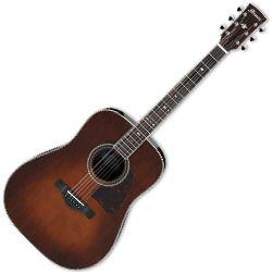 Ibanez AVD10-BVS Brown Violin Sunburst 6 String RH Acoustic Guitar