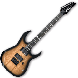 Ibanez GRG121EXSM-NGT-d Gio Series 6 String RH Electric Guitar in Natural Gray Burst (discontinued clearance)  (Prior Year Model)