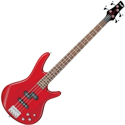 Ibanez GSR205-TR-d Gio Series 5 String Bass Guitar in Transparent Red (discontinued clearance)