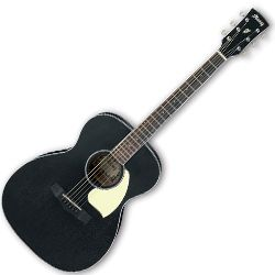 Ibanez PC14-WK-d Weathered Black Open Pore 6 String RH Acoustic Guitar (discontinued clearance)  (Prior Year Model)