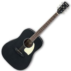 Ibanez PF14-WK PF Series Weathered Black Open Pore 6 String RH Acoustic Guitar
