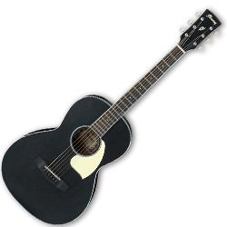 Ibanez PN14-WK Weathered Black Open Pore 18 Fret 6 String RH Acoustic Guitar (discontinued clearance)