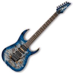 Ibanez RG1070PBZ-CBB RG Premium Series 6 String RH Electric Guitar in Cerulean Blue Burst