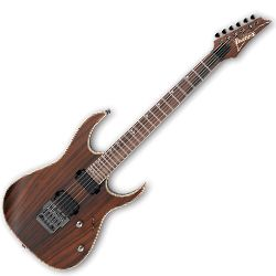 Ibanez RG721RW-CNF RG Premium Series 6 String RH Electric Guitar in Charcoal Brown Flat