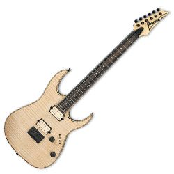 Ibanez RGEW521FM-NTF Natural Flat RG Exotic Flame Maple 6 String RH Electric Guitar