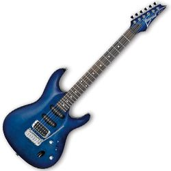 Ibanez SA160QM-SPB SA Series 6 String RH Electric Guitar in Sapphire Blue (discontinued clearance)