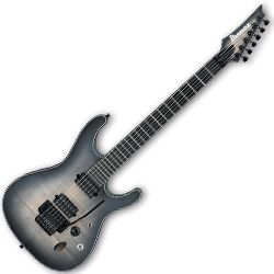 Ibanez SIX6DFM-DCB S Iron Label Series 6 String RH Electric Guitar in Dark Space Burst (Discontinued Clearance)
