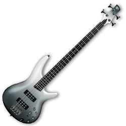 Ibanez SR300E-PFM SR Series 4 String Electric Bass in Pearl Black Fade Metallic