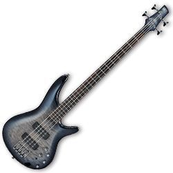 Ibanez SR400EQM-FBB SR Series 4 String RH Electric Bass in Fade Blue Burst (Discontinued Clearance)