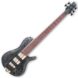Ibanez SRSC805-DTF SR Bass Workshop 5 String RH Electric Bass in Deep Twilight Flat