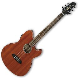 Ibanez TCY12E-OPN Talman Series 6 String RH Electric Acoustic Guitar in Open Pore Natural