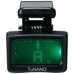 Ibanez Tunano Clip On Chromatic Tuner for Guitar, Bass, and Ukulele