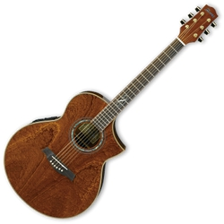 Ibanez EW35SPENT Exotic Sapele Pommele 6-Str RH Acous-Electric**clearance discontinued**