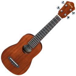 Ibanez UKS10-d Sapele 4-String Soprano Ukulele (discontinued clearance)  (Prior Year Model)
