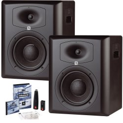 JBL LSR6328P-Pak Studio Monitor Pair & Room Calibration Kit