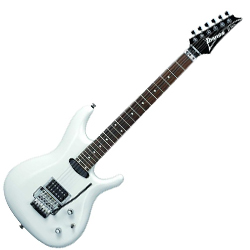 Ibanez JS140-WH-d Joe Satriani Signature 6 String Electric Guitar in White (discontinued clearance)  (Prior Year Model)