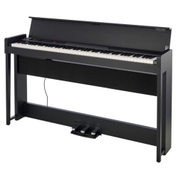 Korg Keyboards C1AIRBK Upright Digital Piano with Bluetooth-Black