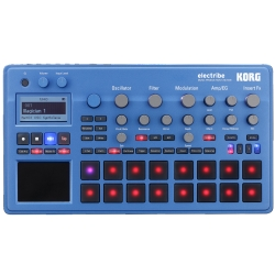 Korg DJ ELECTRIBE2BL Music Production Station with V2.0 Software-Blue