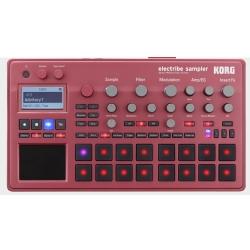 Korg DJ ELECTRIBE2SRD Music Production Sampler Station-Metallic Red