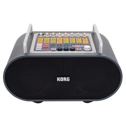 Korg DJ Stageman 80 Portable Battery Powered PA with Rhythm Machine
