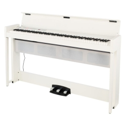 Korg Keyboards C1AIRWH Upright Digital Piano with Bluetooth-White