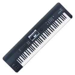 Korg Keyboards KROME-73 Synthesizer Workstation-Black