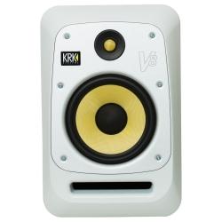 """KRK V8S4-WN 8"""" Powered Studio Monitor-White"""