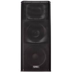 QSC Audio KW153 15 Inch 3-Way Powered Loudspeaker