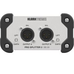 Klark Teknik DS 20 Pro Splitter 2 Passive Signal Splitter