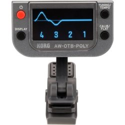 Korg Tuners AW-OTBPOLY - Polyphonic Clip-on Bass Tuner