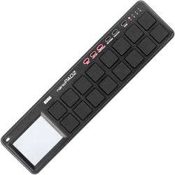 Korg DJ NANOPAD2-BK Black 16-Pad Percussion MIDI controller