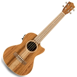 Lanikai ACS-CET Acacia Electric Tenor Ukulele-Natural