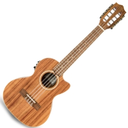 Lanikai ACST-8CET Acacia Solid Top 8 String Tenor with Kula Preamp A/E Ukulele