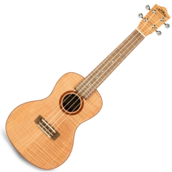 Lanikai FM-C Flame Maple Concert Ukulele-Natural
