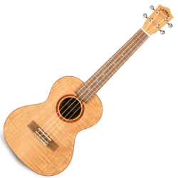 Lanikai FM-T Flame Maple Tenor Ukulele-Natural