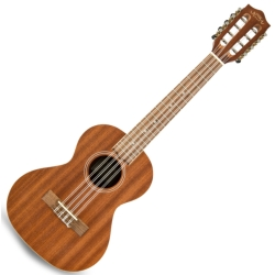 Lanikai MA-8T Mahogany 8 String Tenor Ukulele-Satin Finish
