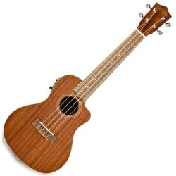 Lanikai MA-CEC Electric Acoustic Cutaway Concert Ukulele in Mahogany