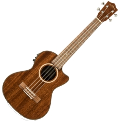 Lanikai MAS-CET Mahogany Electric Tenor Ukulele-Natural