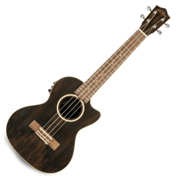 Lanikai ZR-CET Ziricote Tenor with Kula Preamp Electric Ukulele