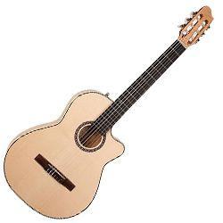 LA PATRIE 042647 Arena Flame Maple CW Crescent II Acoustic Electric Guitar
