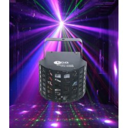 LC Group Derby Laser 2-in-1 effect with derby and laser